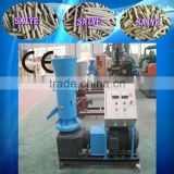 Moving roller wood pellet making machine