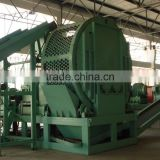 tire shredder waste tyre recycling machine