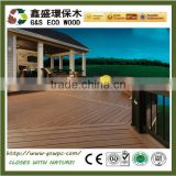 Easy install outdoor anti-uv wpc floor manufacturer rosewood composite solid timber