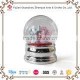 Cutomized wedding favors snow globe