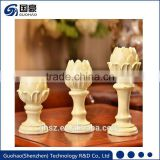 Hottest classic cheap price gold mercury glass candle holders