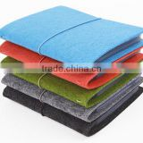 hot products 2017 wholesale pure Felt Business Card Holder Folder Organizer made in China
