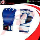 Cowhide leather/Artificial Leather mma gloves 2017 / Prop-up Wrist MMA Training Hand Gloves / Half Mitts Sparring Boxing Gloves