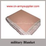 Wool Acrylic Polyester Army Military Blanket