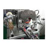 Continuous Hot Semi - Automatic Foil Stamping Machine For Anomalous Shape Plastic Cap