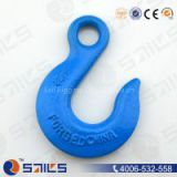 Eye Slip Hook, us type, drop forged, carbon steel or alloy steel, colorful painted or galvanized
