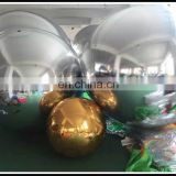 2016 Best Selling Inflatable Large Disco Mirror Ball PVC Silver Mirror Ball Event Decoration Balloon For Sale