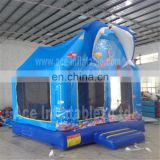 giant inflatable dolphin bouncer