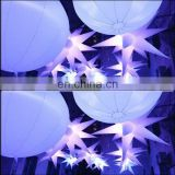 Beautifu inflatable stars for event decoration