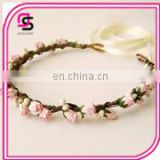 wholesale fashion fabric covered flower headband hair band