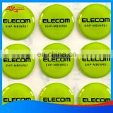 Polyurethane domed decals labels,crystal dome stickers with digital printing