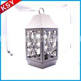 Newest High Quality Mini European Antique Style Metal Bird Cage Candle Lantern Holder