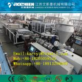 Plastic composite trapezoidal roof tile extrusion production line