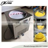 70cm round pan hot sale ice fry machine ice cream machine deep fryer machine price