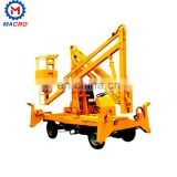 Factory Directly Export Articulated Towable Trailer Boom Lift