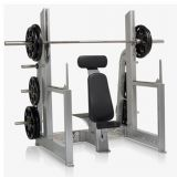 CM-425 Olmpic Military Bench Shoulder Exercise Machine
