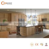 Foshan furniture supplier customized MDF board & plywood kitchen cabinet (CDY-MK402)