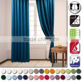 99.99% shading rate flame retardant ready-made curtain , custom design available
