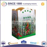 wholesales competitive Price different size 3mm thick corrugated cardboard fresh fruit box