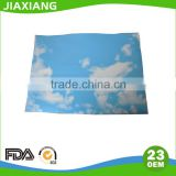 Airline serving printed logo anti slip tray mat paper