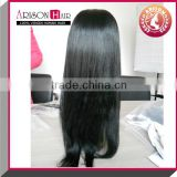 High quality glueless silk top full lace wig with baby hair
