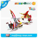 Inquiry About YIRUN plastic blocks pirates series building toys for boys