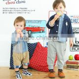 children garment Japanese wholesale high quality cute fashion infant clothing kids wear baby pants japan for boys