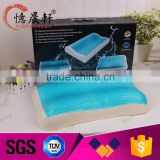 Non-toxic Wholesale Comfortable Blue Cooling Gel Foam Memory Pillow                                                                         Quality Choice