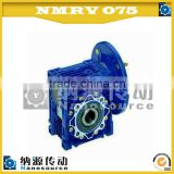 Nmrv075 100 : 1 high efficiency synthetic oil aluminum worm gearbox