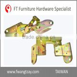 Made In Taiwan Hot Sale	180 Degree Space Save Furniture Kitchen Desk Table Folding Mounting Hinge