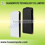 For Apple Iphone6 White and Black Vertical Flip Leather Magnetic Mobile Phone Case Back Cover