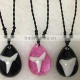 shark teeth necklace pendant