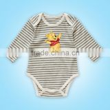 best quality organic cotton baby bodysuit baby clothes wholesale price