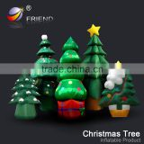 new year 2016 wholesale inflatable christmas trees white 7ft
