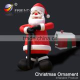 new products 2016 gifts inflatable Santa Claus Christmas decorations