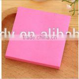 Wholesale fashion customized promotion sticky note/sticky memo pads                                                                         Quality Choice