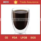 Thermo borosilicate double-wall insulated glass cup                                                                         Quality Choice