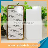 2D blank diamond sublimation mobile phone case for iphone 6/6s