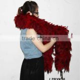 Full Fluffy coque feather Boa LZBYK36
