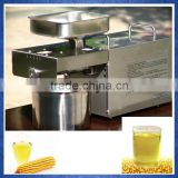 small low temperature corn oil making machine, healthy mini commercial almond oil press machine