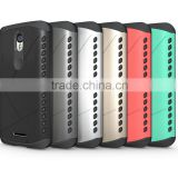 2016 factory price shield Armor case For MOTO X Force/XT1585/Droid Turbo 2