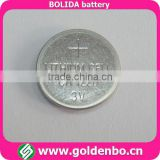 Coin type 3V lithium cell battery CR1220