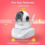 NC400 Wifi Wireless Webcam, Wall-mounted Dome IP Camera, Surveillance Equipment Professional Manufacturer and Exporter