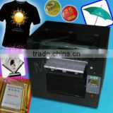 A3 size Digital Direct to garment textile printing machine special forremove print t shirt