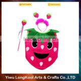 Beautiful fancy dress costume birthday party masquerade kids strawberry costume