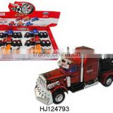 Hot Selling Alloy Drag Head Car Toys, 1:32 Metal Truck Toys, Alloy Model Toys With light And Music