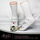 Wholesale daily wearing cotton cartoon tube young girl socks                                                                         Quality Choice