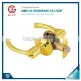 New design Exterior Rotatory Door Handle Lock Heavy duty Privacy american style handle door lock                                                                                                         Supplier's Choice