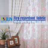 Permanent Flame Retardant Newest Design Curtain With Loops Plain Blackout Curtain Home Curtain Set