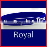 Customized Free debossed silicon wristband cheap for promotional,bulk cheap silicone wristband